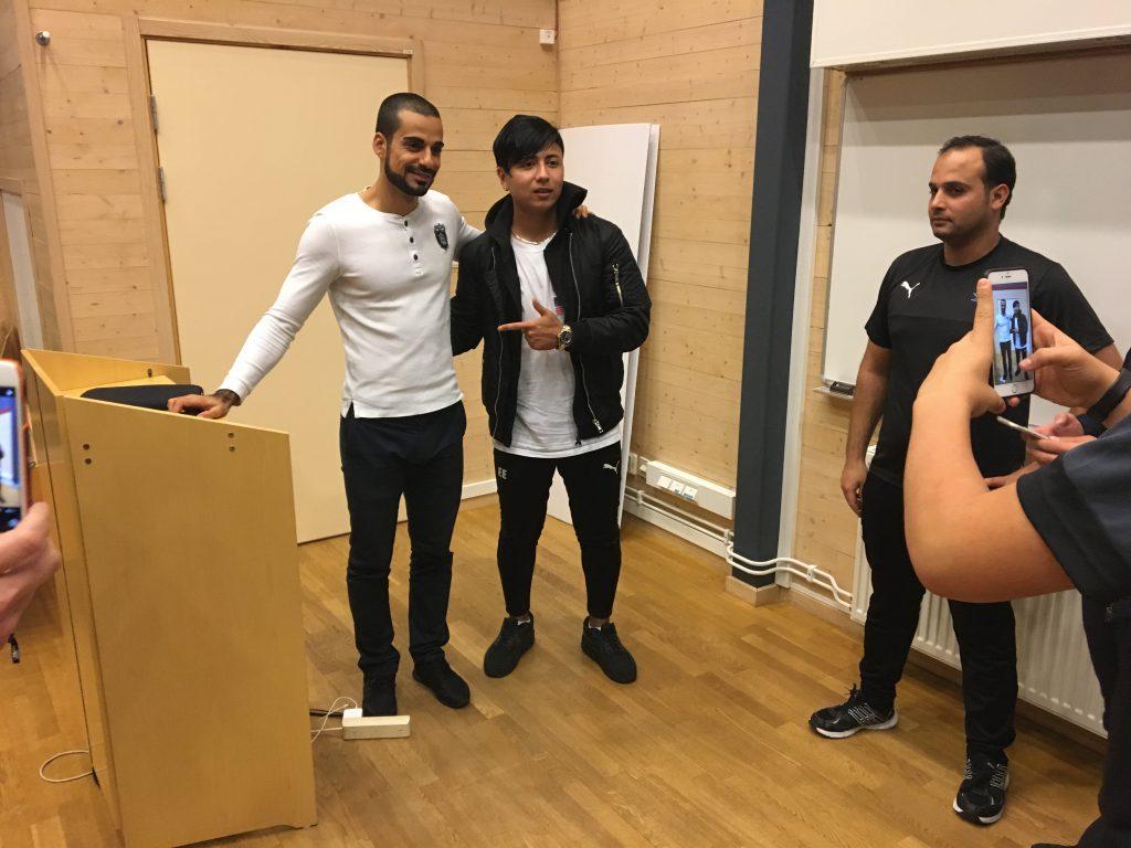 Mohammed Al-Hakim besökte Osby.