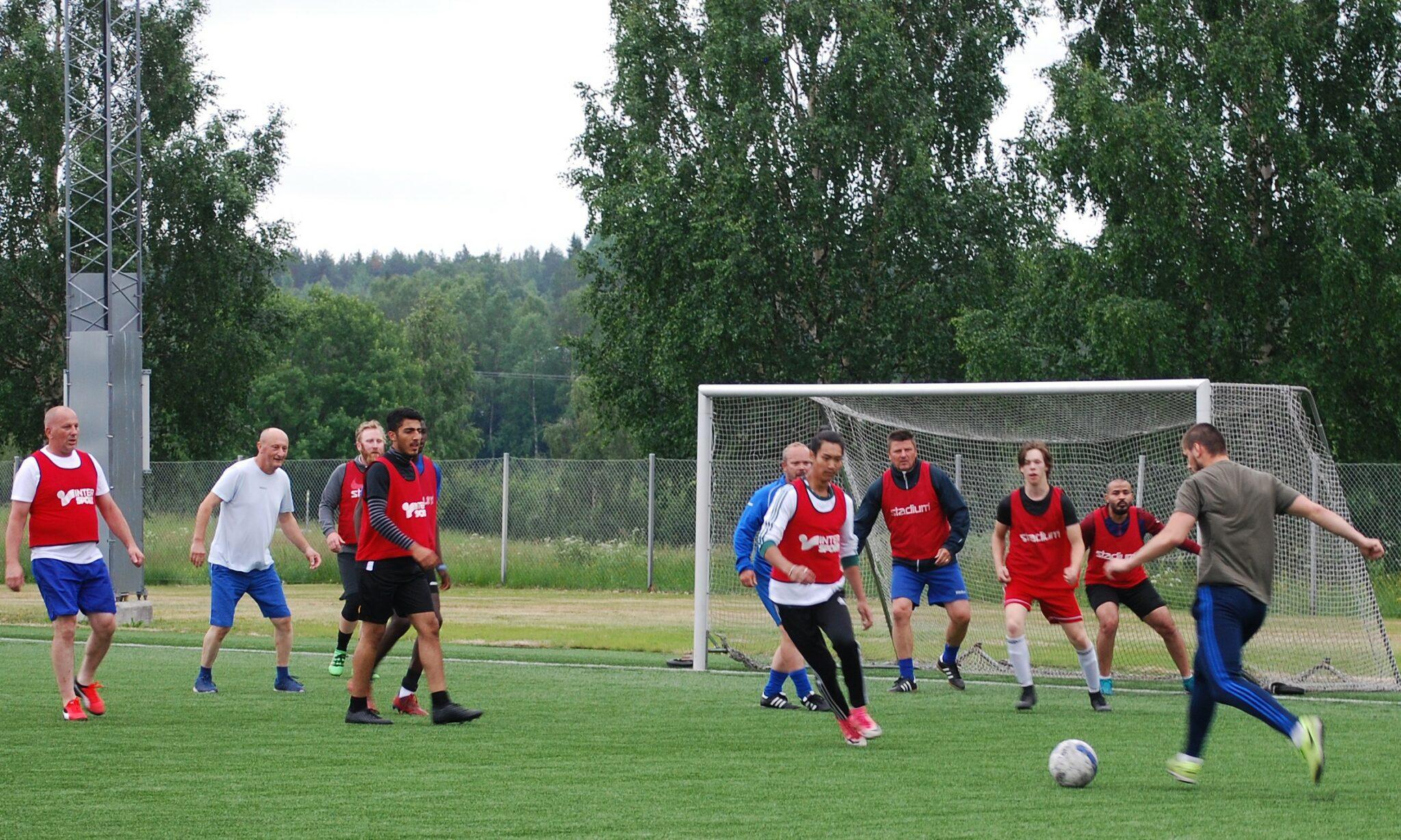 IFK Råneå motionsfotboll sommaren 2020